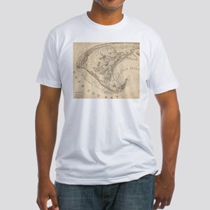 Vintage Map of Provincetown (1836) T-Shirt