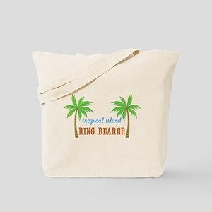 Ring Bearer Tropical Wedding Tote Bag