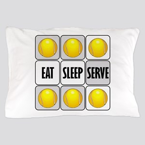 Eat Sleep Serve Tennis Pillow Case