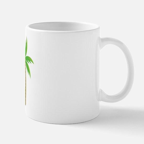 Bridesmaid Tropical Island Mug