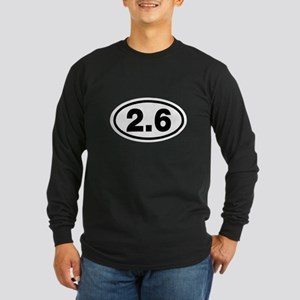 0.0 and 2.6 Long Sleeve Dark T-Shirt
