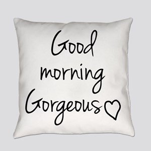 Good morning my love Everyday Pillow