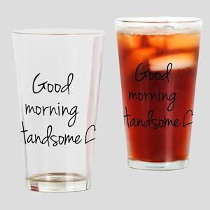 Good morning my love Drinking Glass