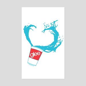 Glee Slushie Sticker (Rectangle)