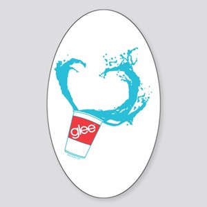 Glee Slushie Sticker (Oval)