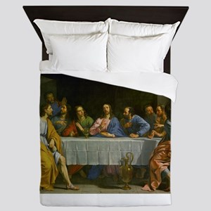 The Last Supper Queen Duvet