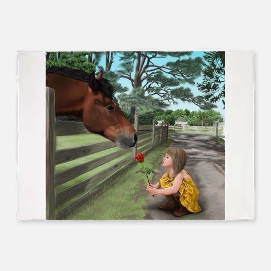 special connections between a girl and her horse 5