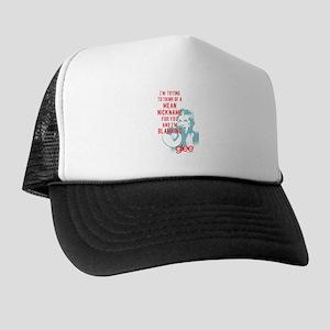 Glee Sue Mean Nickname Trucker Hat