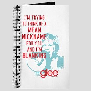 Glee Sue Mean Nickname Journal