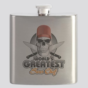 World's Greatest Sous Chef 1 Flask