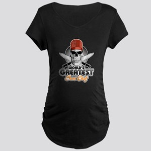World's Greatest Sous Chef 1 Maternity T-Shirt