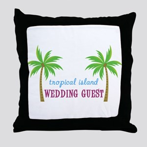 Wedding Guest Throw Pillow