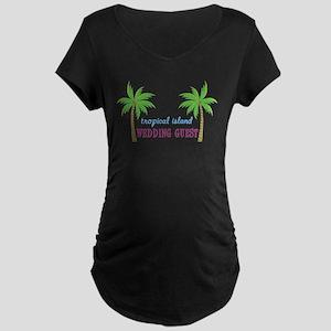 Wedding Guest Maternity Dark T-Shirt
