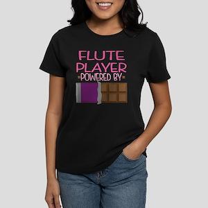 Flute Player Women's Dark T-Shirt