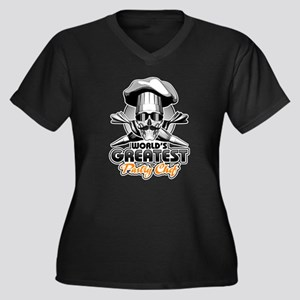 World's Greatest Pastry Chef 4 Plus Size T-Shirt