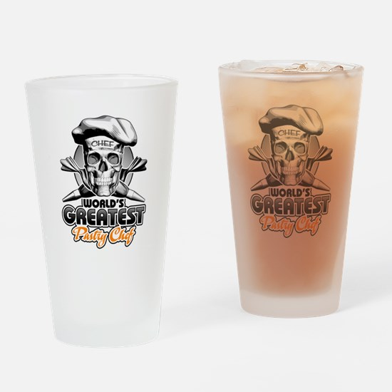 World's Greatest Pastry Chef 5 Drinking Glass