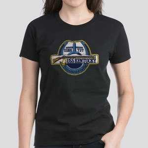 USS KENTUCKY Women's Dark T-Shirt