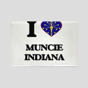 I love Muncie Indiana Magnets