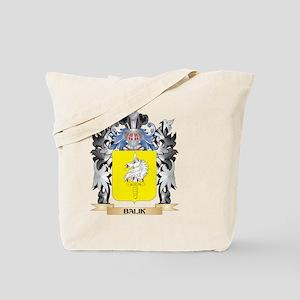 Balik Coat of Arms - Family Crest Tote Bag