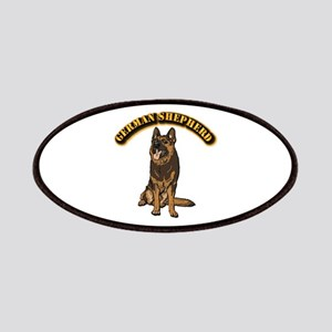 German Shepherd - With Text Patch