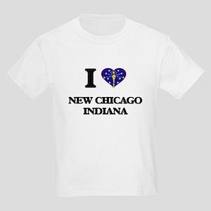I love New Chicago Indiana T-Shirt
