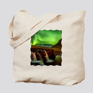 Wild Skies over Iceland Tote Bag