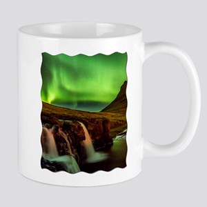 Wild Skies over Iceland Mugs