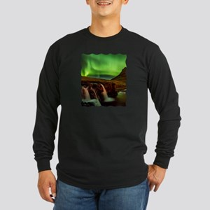 Wild Skies over Iceland Long Sleeve T-Shirt