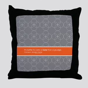 Modern Family Carry a Tune Throw Pillow