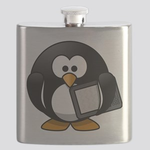 Modern Penguin Flask