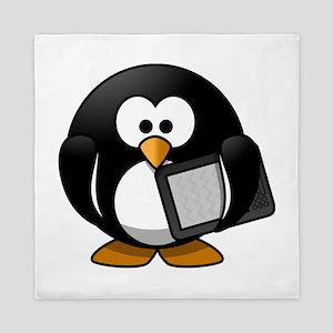 Modern Penguin Queen Duvet