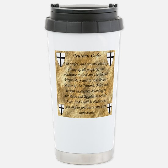 Teutonic Order Travel Mug
