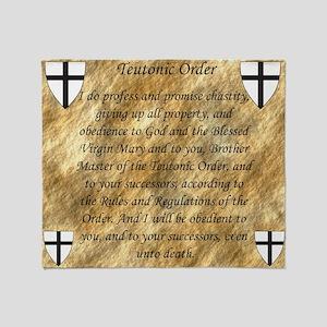 Teutonic Order Throw Blanket