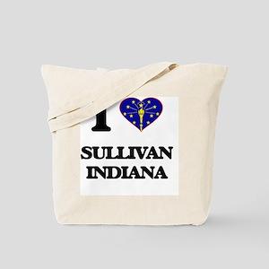 I love Sullivan Indiana Tote Bag