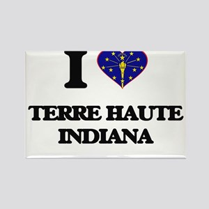 I love Terre Haute Indiana Magnets