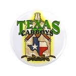 Texas Carboys - Green Logo Button