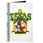 Texas Carboys - Green logo Journal