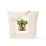 Texas Carboys - Green logo Tote Bag