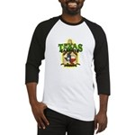 Texas Carboys - Green logo Baseball Jersey