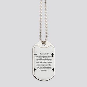 Teutonic order Dog Tags