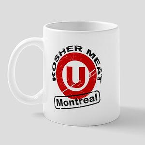 Kosher Meat U - Montreal Mug
