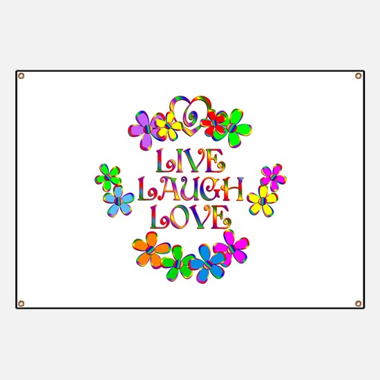 Live Laugh Love Banner