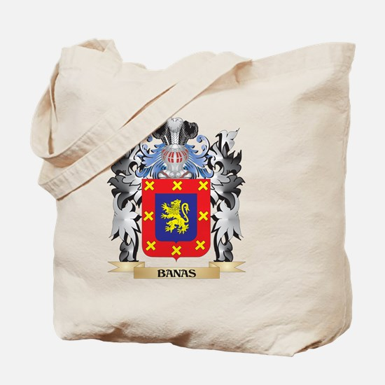 Banas Coat of Arms - Family Crest Tote Bag