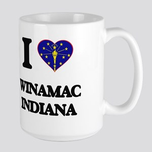 I love Winamac Indiana Mugs