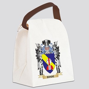 Bande Coat of Arms - Family Crest Canvas Lunch Bag