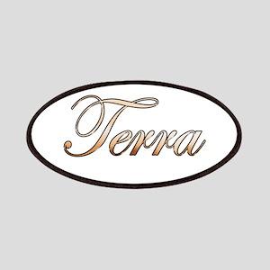 Gold Terra Patch