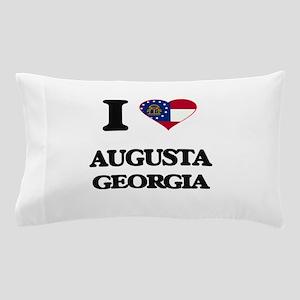 I love Augusta Georgia Pillow Case