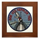 USS KEPPLER Framed Tile