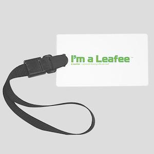 Leafee Large Luggage Tag