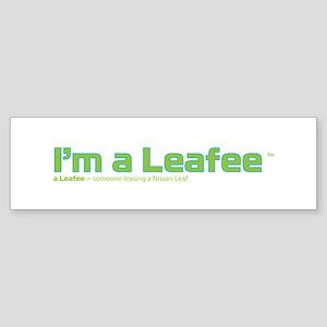 Leafee Bumper Sticker